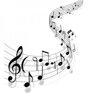 Classical guitar sheet music design